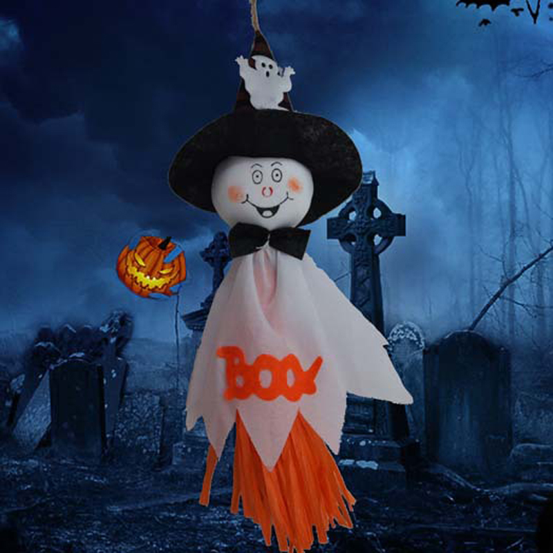 Halloween Ghost Witch Hanging Party Decoration Haunted