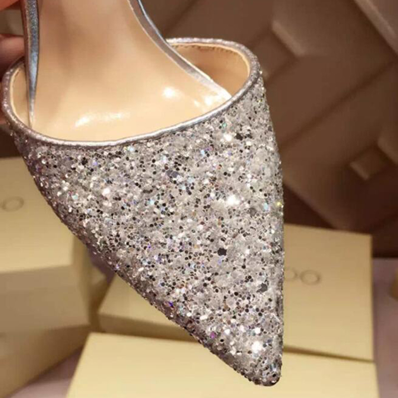 Women Sexy Evening Party Shoes Stiletto High Heels Bling Pumps Wedding Shoes  | EBay