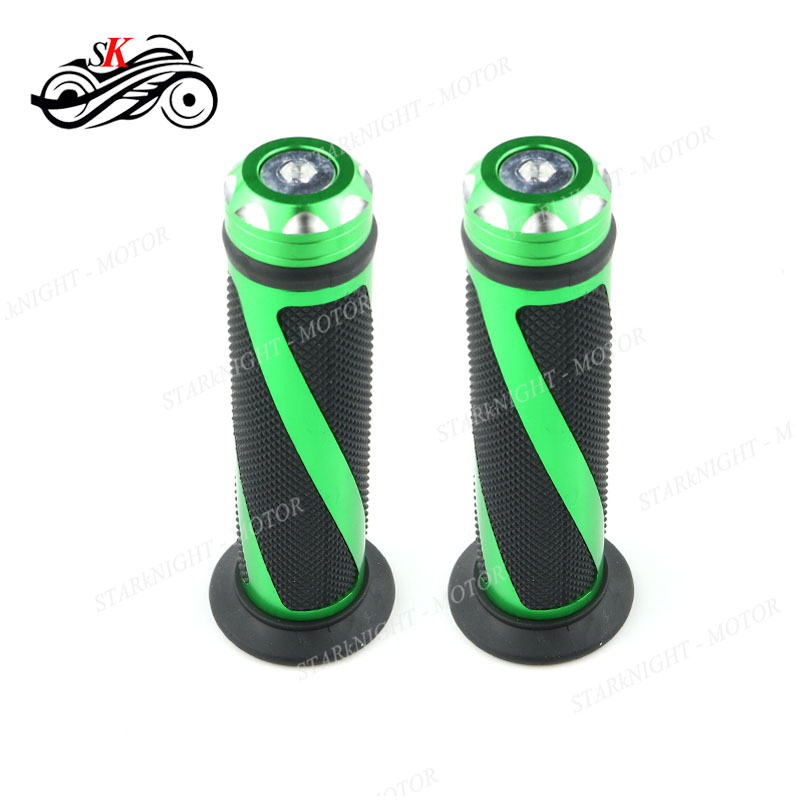 Extend CNC Brake Clutch Lever and Grips For Kawasaki ZX10R 2016-2017 Black Green