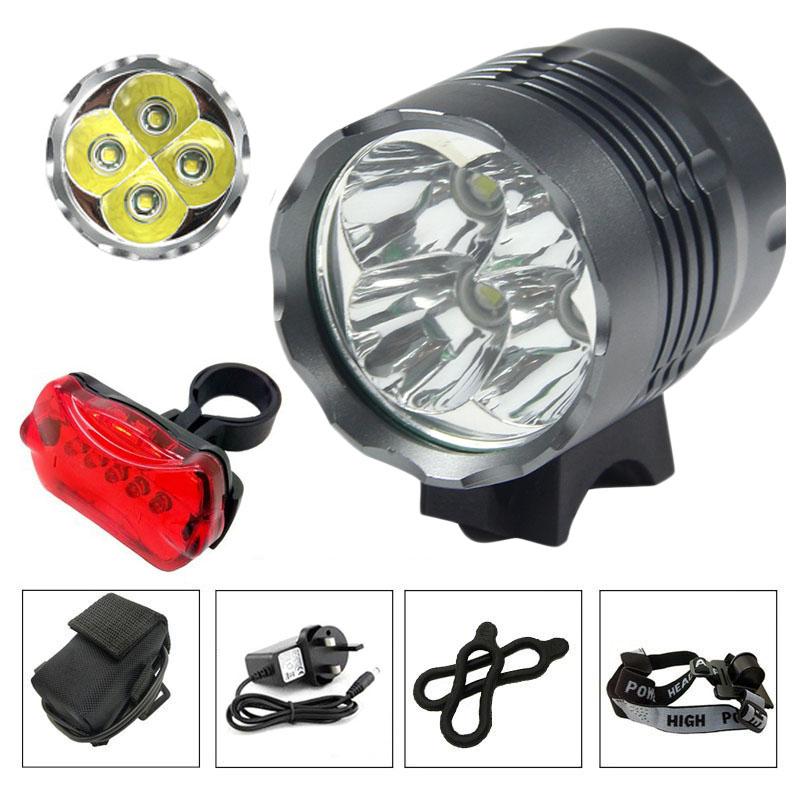 Light focus for bike 9 LED 9000LM flashlight bike HIKING 9 x CREE XM-L MTB