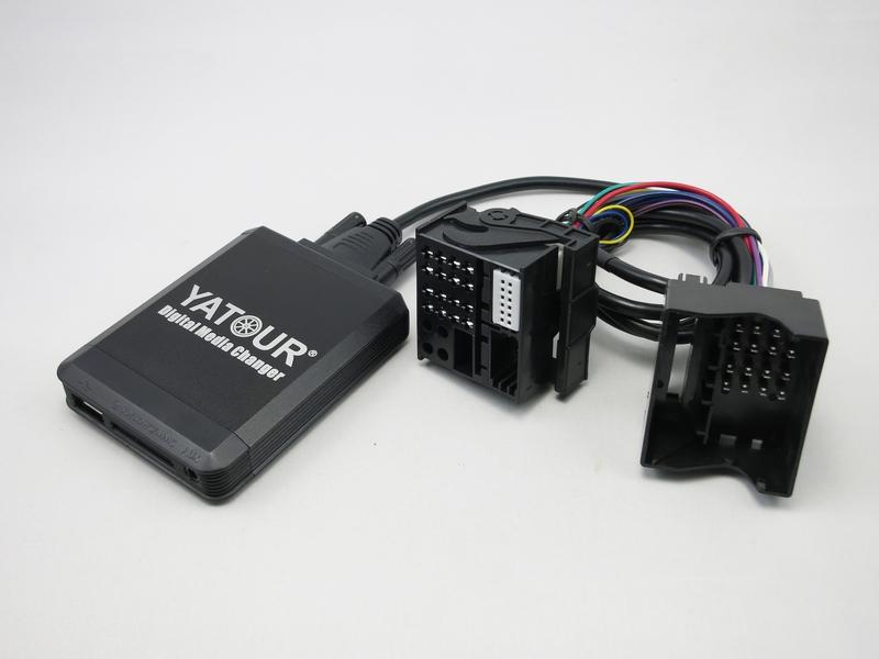 USB SD mp3 AUX CD cambiador adaptador para bmw radio Professional//Business 40pin