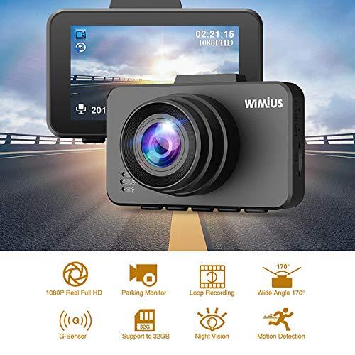 Consumer Electronics Generous Mini 1080p Auto Car Dvr 170° Wide Angle Dash Cam Video Recorder Adas G-sensor