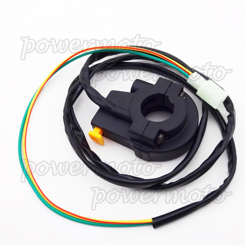 Throttle Kill Switch Housing For Pocket Bike Motorized Bicycle Gas Goped Scooter