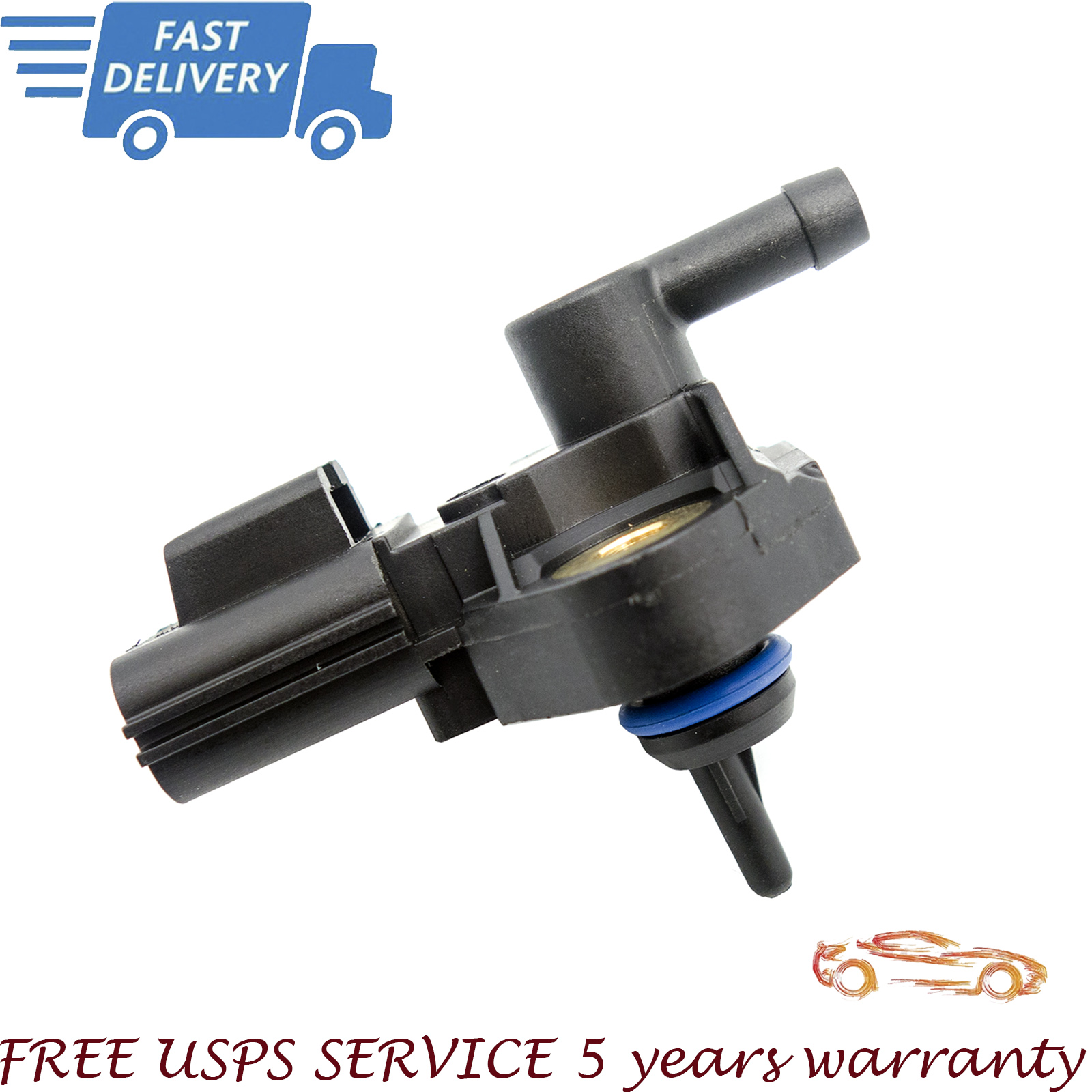 Fuel Pressure Sensor 3F2Z9G756AC Fit for Ford Mercury Lincoln US Seller USPS