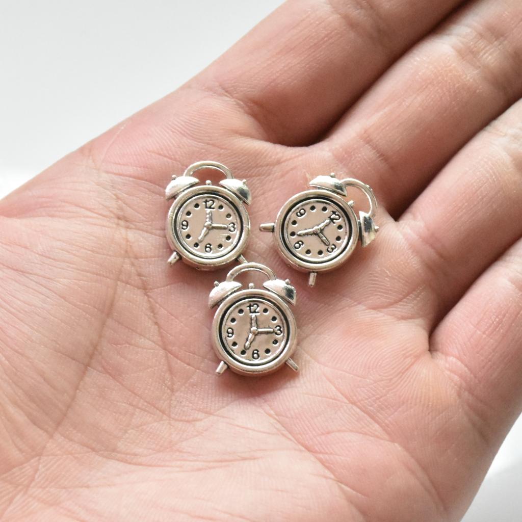 12PC  Tibetan Silver Apple Fruit Charm Pendant 11*11mm For DIY Earrings//Bracelet
