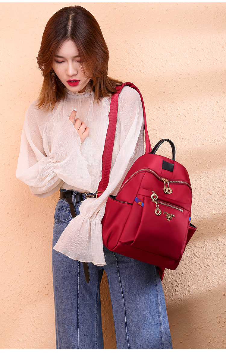 Womens NEW Oxford cloth Backpack Casual Waterproof Cosy Travel Shoulder Bag