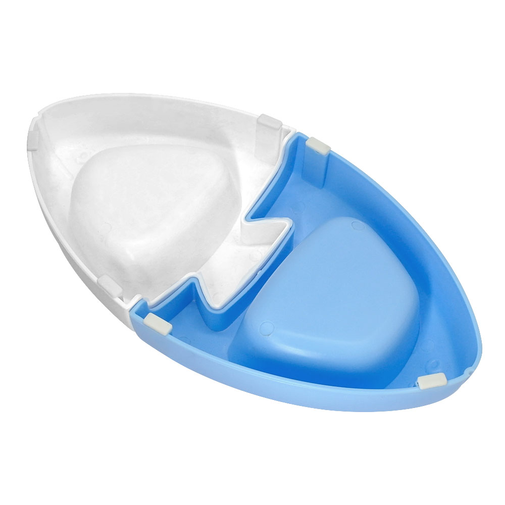Plastic-Non-Slip-Double-Pet-Dog-Cat-Bowls-Twin-Dishes-Water-Food-Feeding-Feeder thumbnail 15