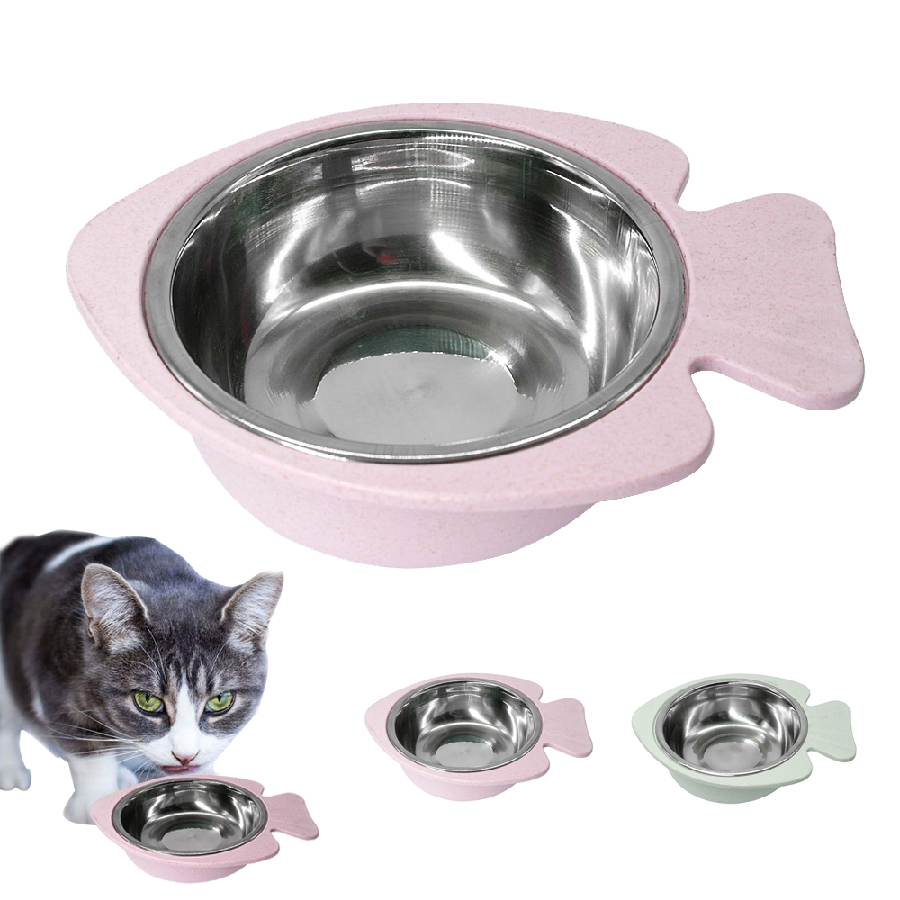 Non Slip Cat Feeding Bowl Stainless Steel
