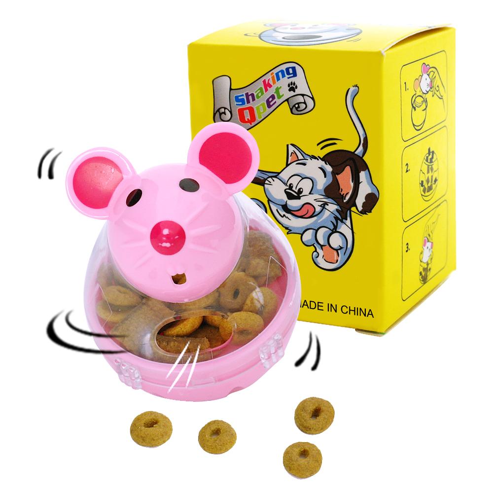 Cat Toys Cat Food Treats Leakage Dispenser Ball Feeder