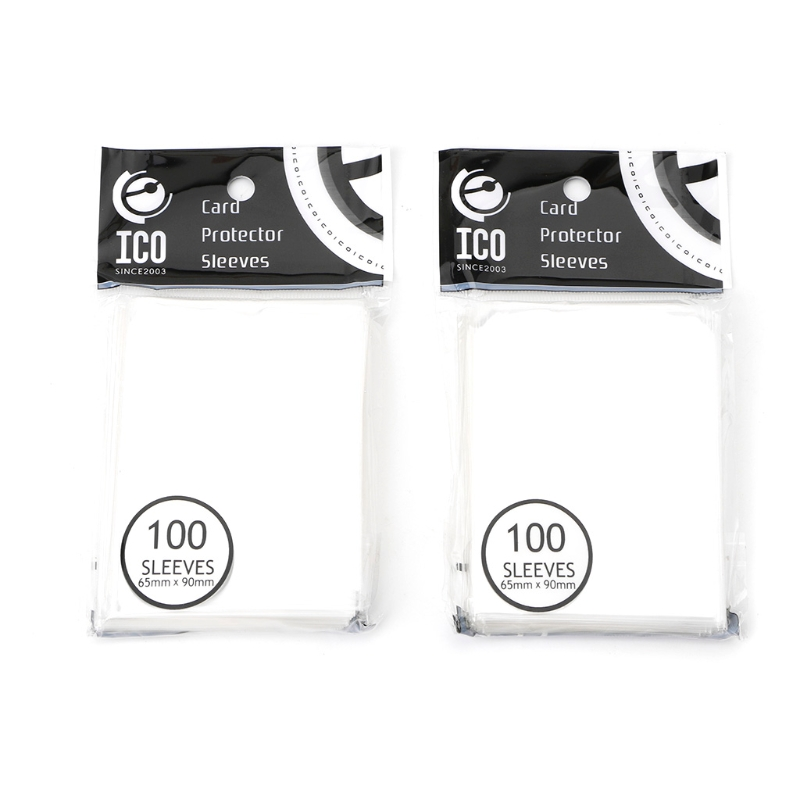 200pcs 60x90mm Card Sleeves Desk Protector For Magical Gathering Board Game