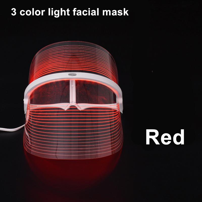 7 Colors Led Light Photon Face Neck Mask Rejuvenation Skin