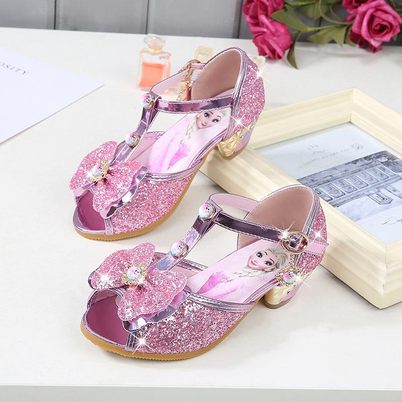 Bambina Per Sandali Elsa Princess 0w8novymn Scarpe Glitter Con gY6yb7vf