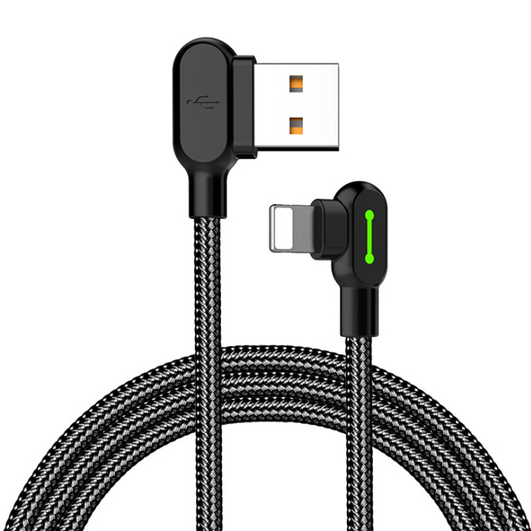 Fast Charging Lightning Charger Iphone Cable L Shape