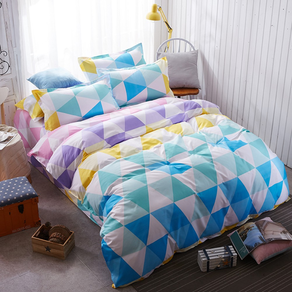 lifestyle gold turquoise leah white cover and geometric flores products new duvet