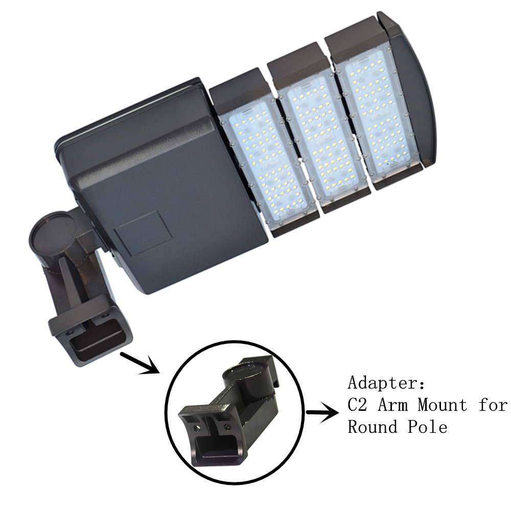 Details about led road 150w light fixture 5000k led parking lot lighting tennis court light