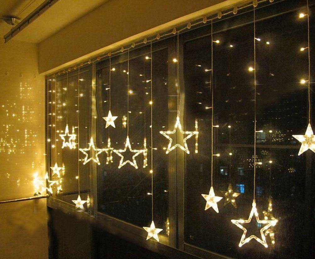Stella tenda luminosa di natale led esterno luci natalizie e