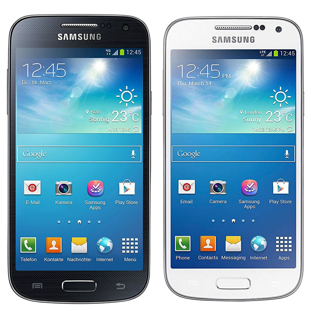 Original Samsung Galaxy S4 Mini Gt I9195 8gb White Black Unlocked Grand 2 Android Jellybean Qualcomm Snapdragon Smartphone