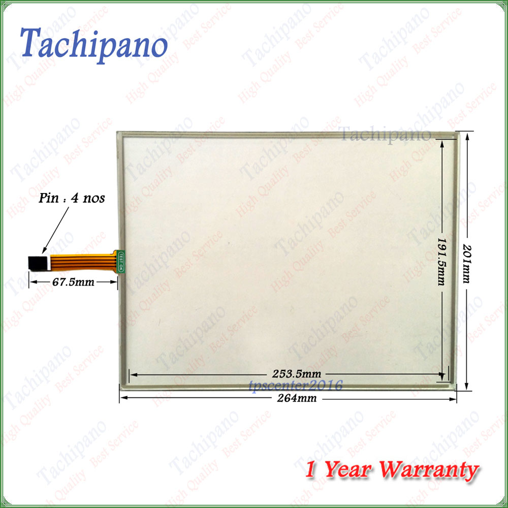 Touch screen panel for Microinnovation XV-152-D8-10TVRC-10 with front overlay