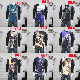 New Darker Than Black Japanese Anime Manga Long Sleeve Black T-Shirt Size S-3XL
