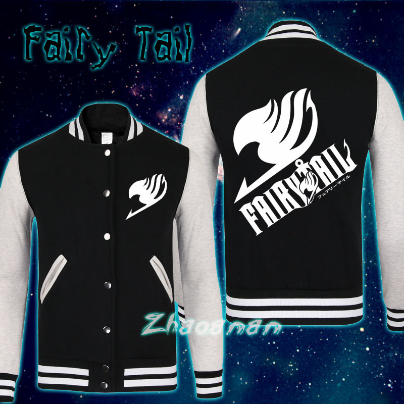 Hot Sell NEW Anime Fairy Tail Galaxy Thicken Sweatshirt Hoodie Jacket