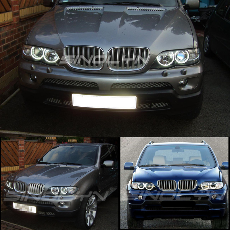 BMW X5 Angel Eyes Rings 12