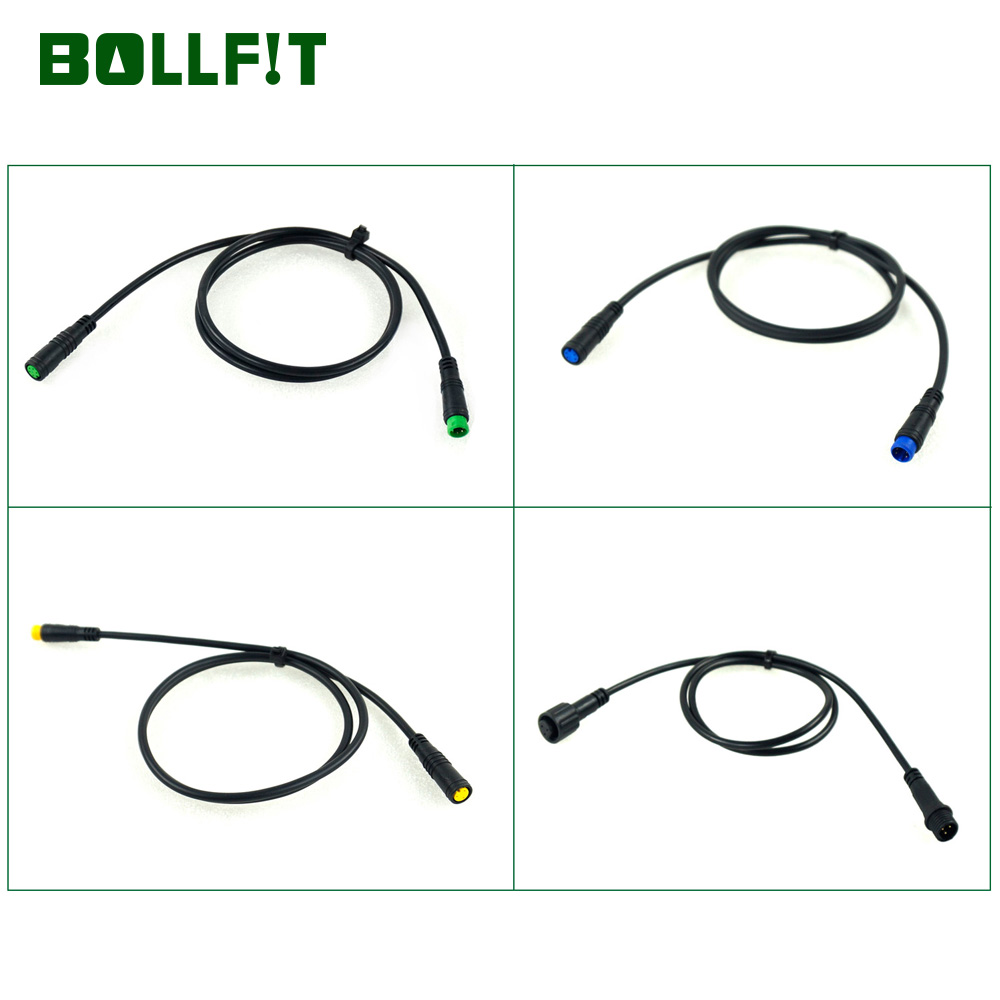 5Pin Display Speedometer Extention Cable M-M F-F for BAFANG Mid Motor Hub Motor