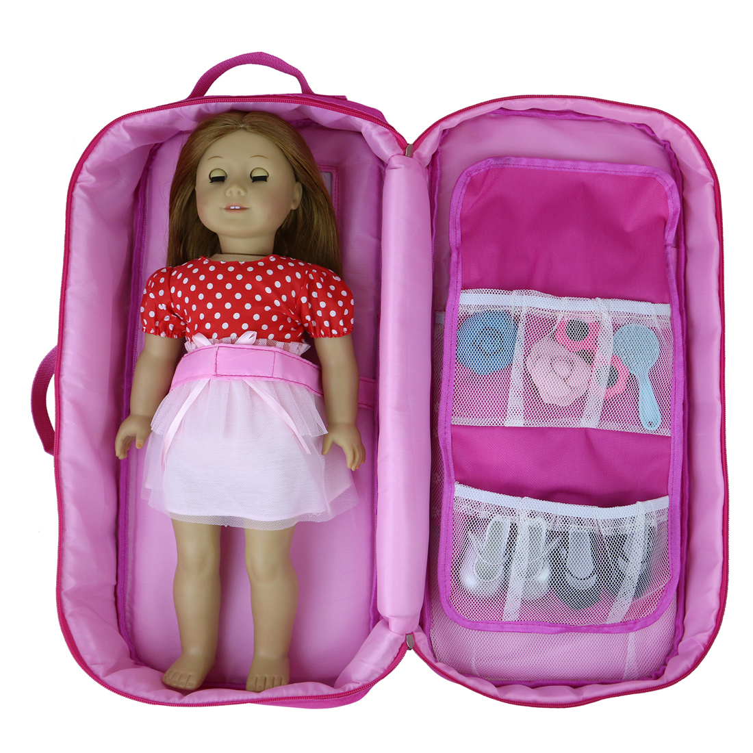 FOR 18'' DOLL CARRIER CASE BAG BACKPACK TRAVEL STORAGE ...