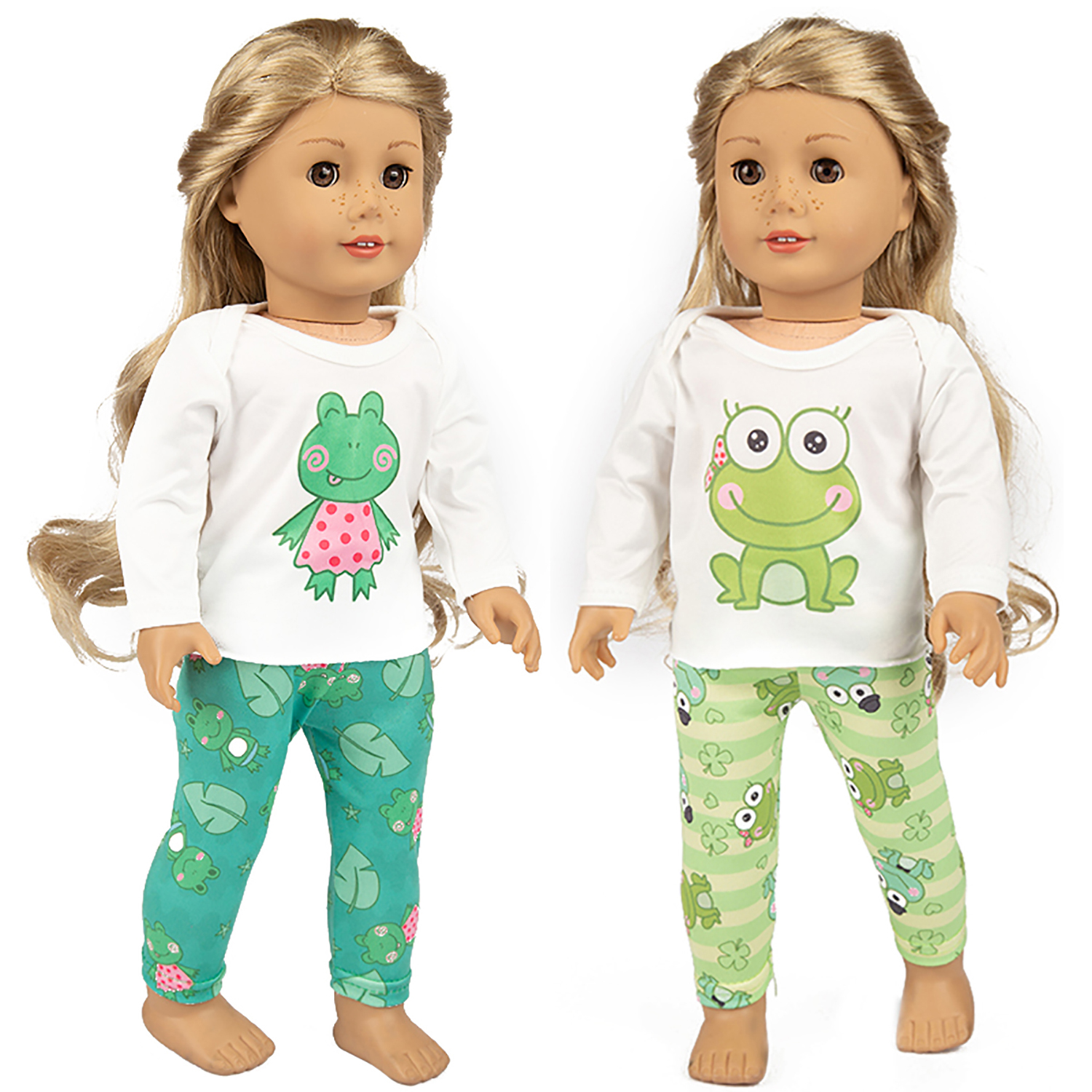 Handmade Fashion Clothes Pajamas Sleepwear for 18 inch American girl doll party