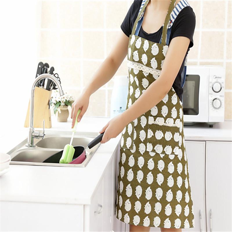 Kitchen Aprons Women'S Housewife Convenient Cook Restaurant