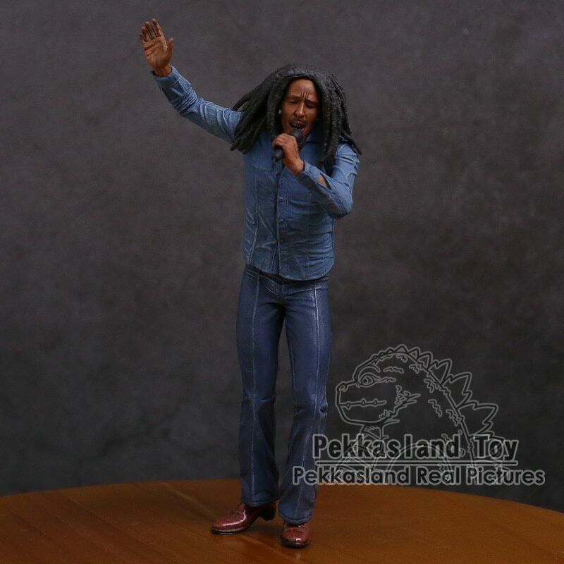 Figure Bob Marley Music Legends Jamaica Singer /& Microphone PVC Action