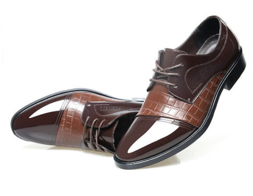 Formal Shoes Men Leather New Dress Oxfords Business Dress Fashion