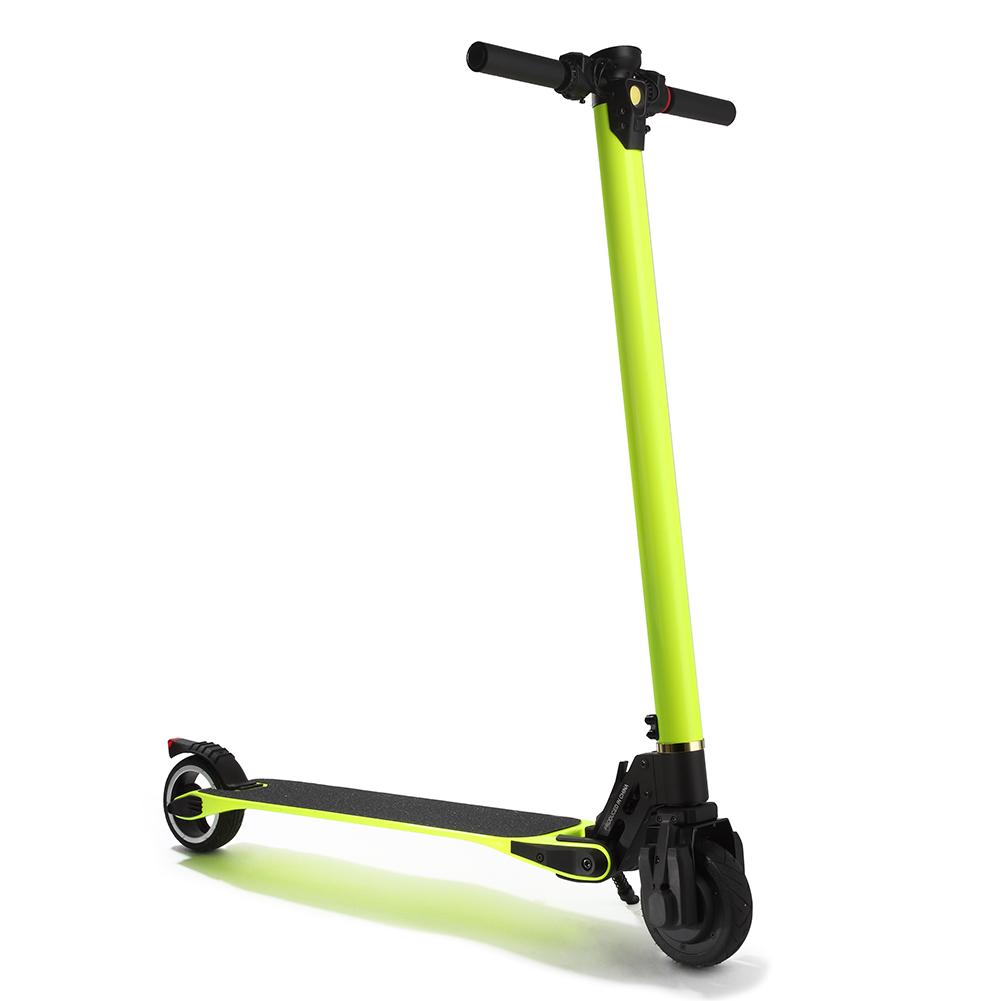 Carbon Fiber Folding Electric Scooter 6.6Ah 8.8Ah Electric Skateboard 15-26 km