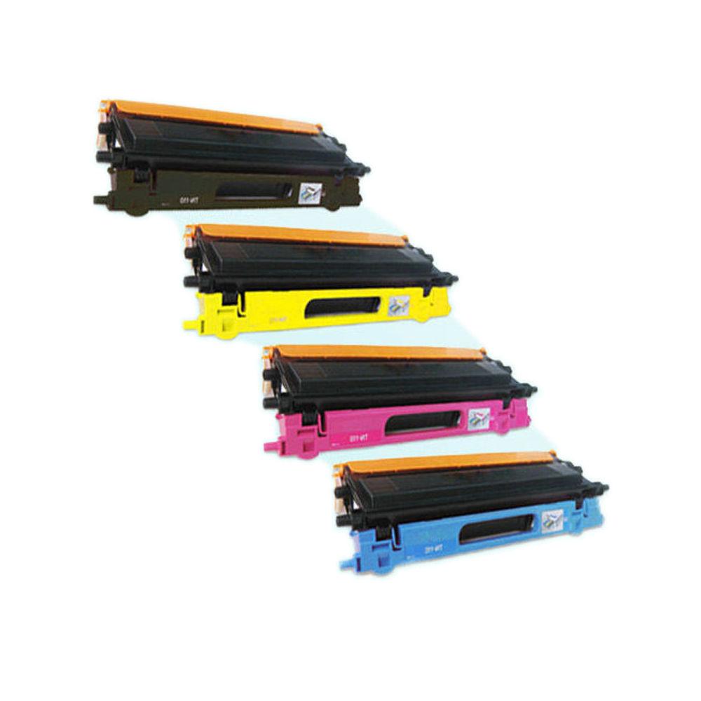 Combo Set 4PK TN-115 TN115 Toner cartridge For Brother MFC-9440CN HL-4070CDW