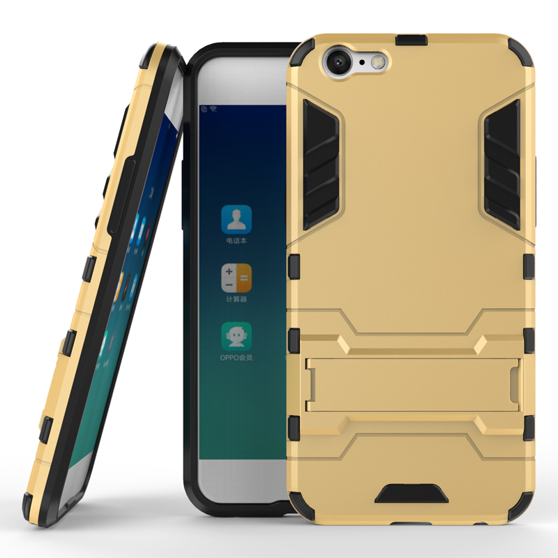 Hybrid Shockproof Rugged Rubber Hard Phone Cover Armor Case Skin For OPPO A39