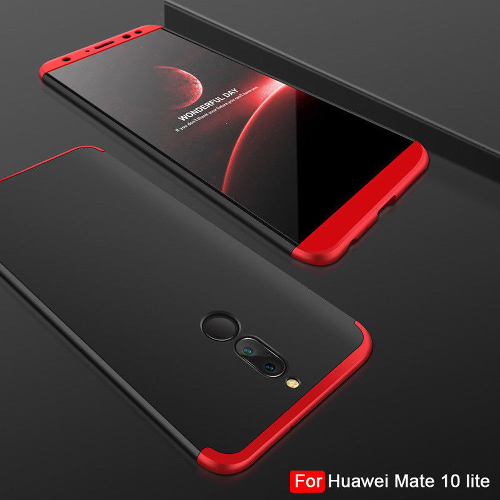 For Huawei Mate 10 lite Nova 2i Luxury 360 Full Back Protective Hard .