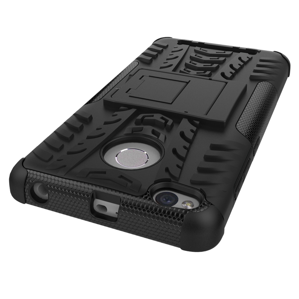 Heavy Duty Armor Hybrid Shockproof Silicone Hard Case Cover For Nillkin Frosted Shield Hardcase Xiaomi Redmi