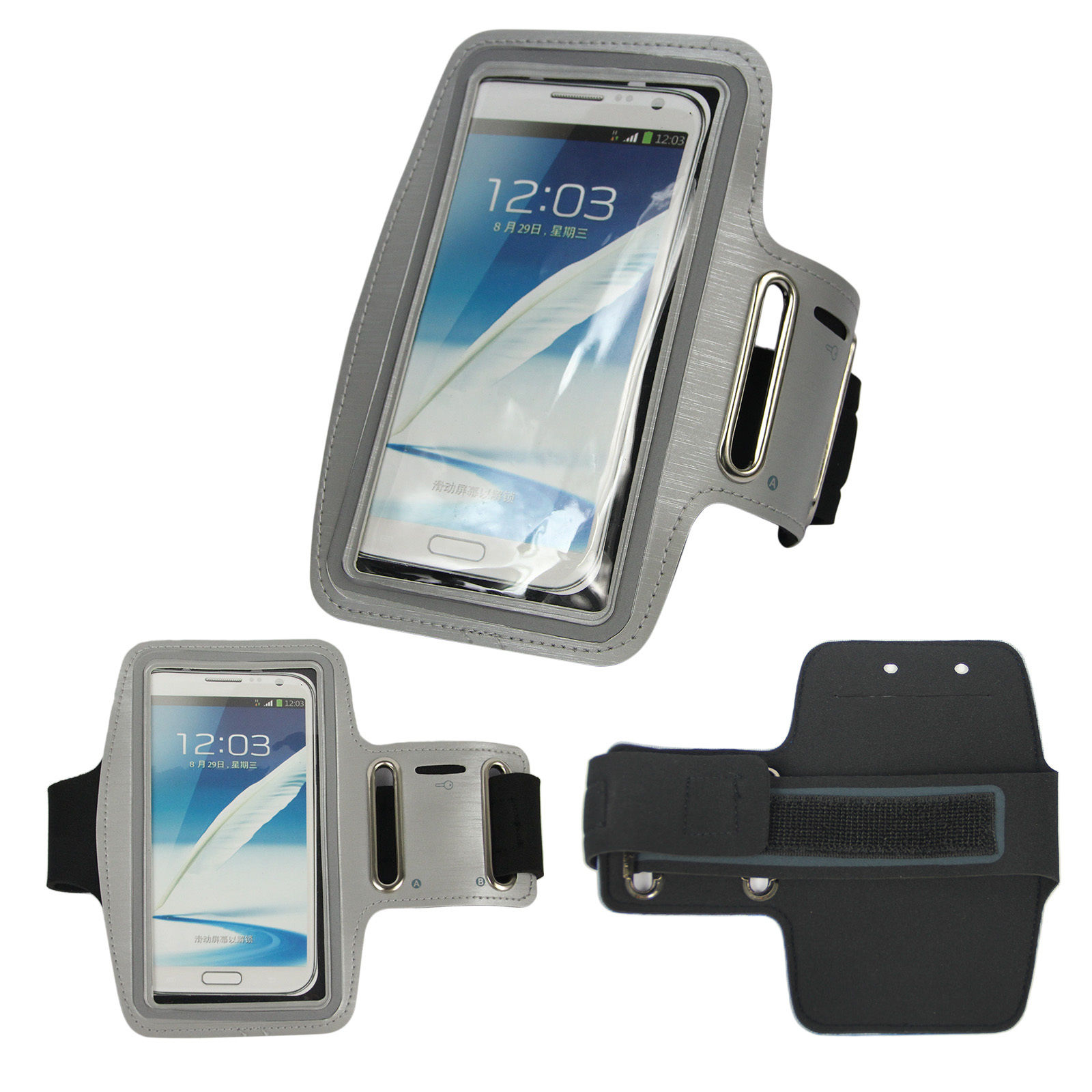 Sport Running Arm Band Phone Pouch Holder Case Outdoor For ...