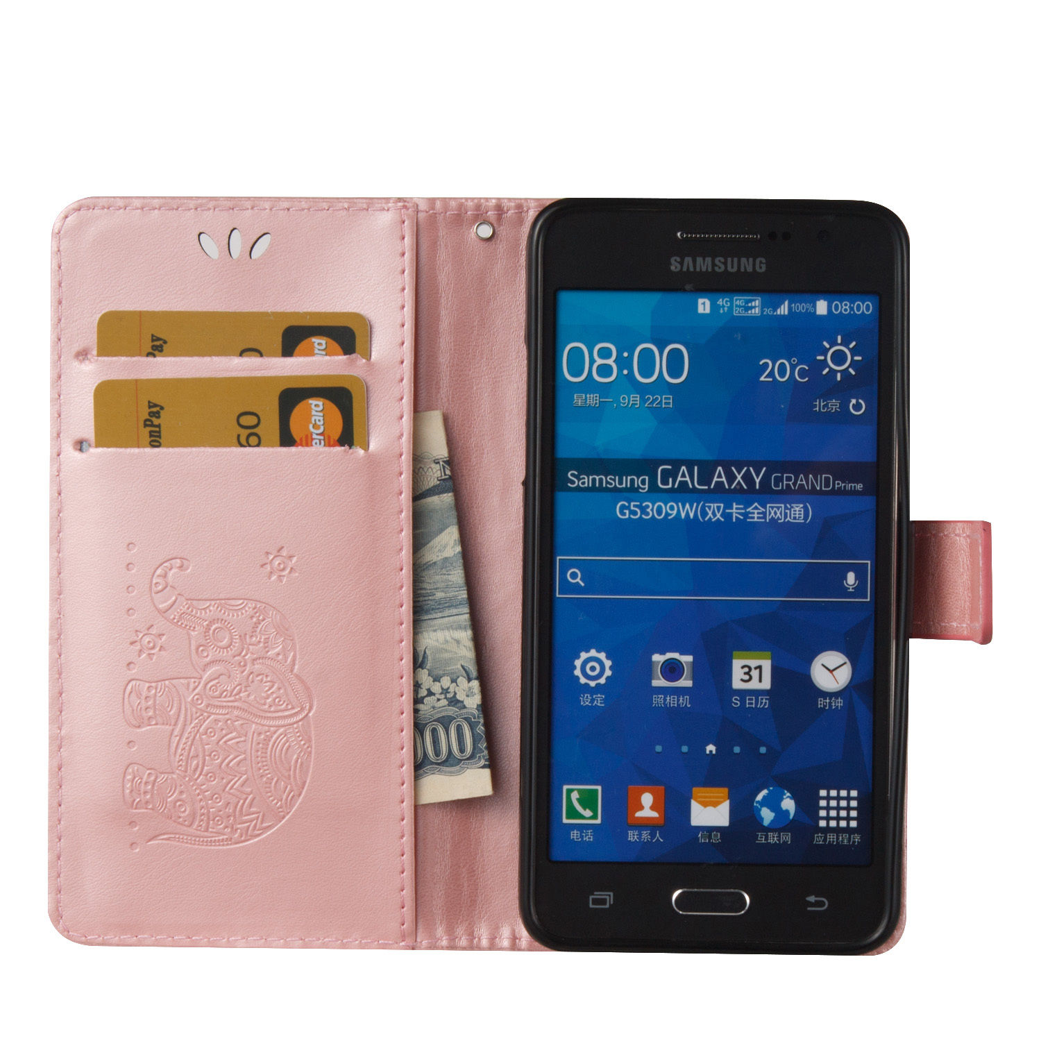 For Samsung Galaxy Grand Core Prime Duos Neo Filp Leather Card Wallet Case Cover