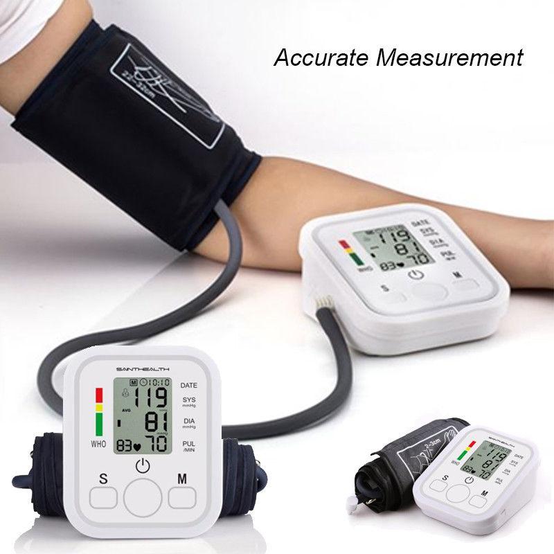 Blutdruckmessgert digitales Oberarm-Blutdruckmessgerät Blutdruck Und Pulsmessung