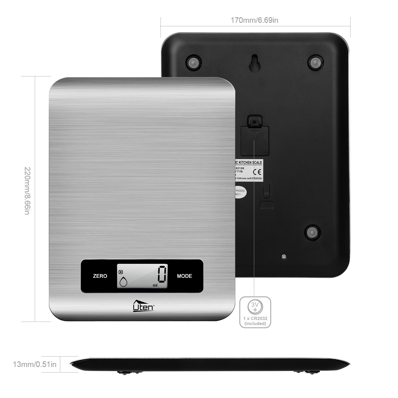 5kg 1g digitale k chenwaage feinwaage grammwaage edelstahl. Black Bedroom Furniture Sets. Home Design Ideas