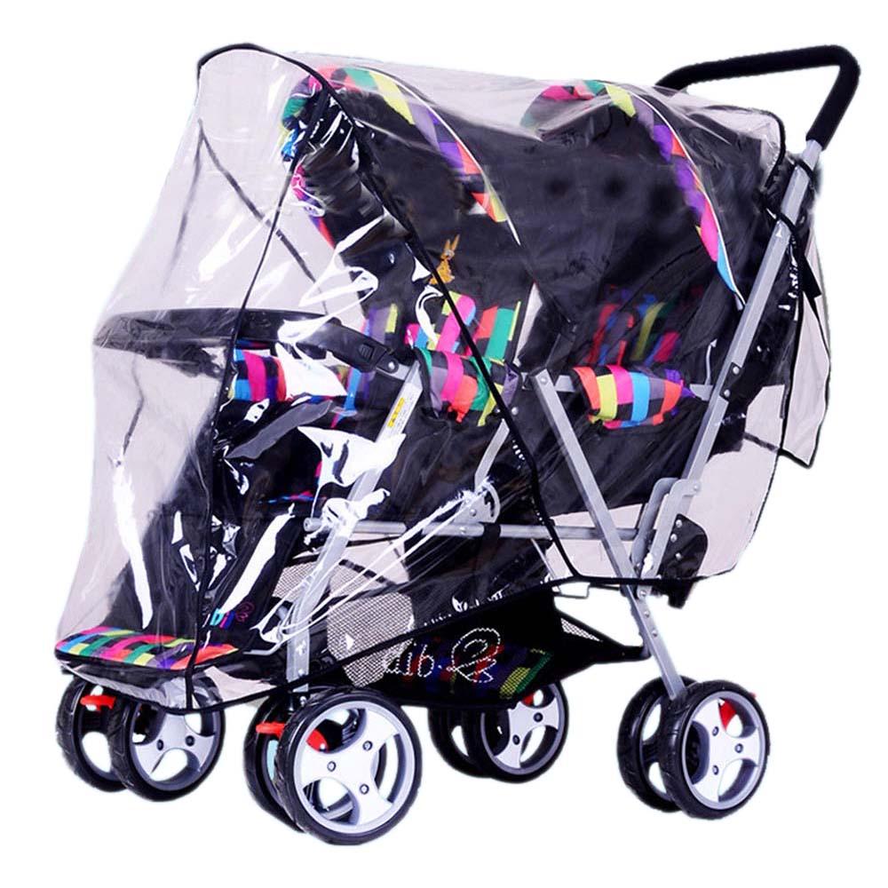 Universal Buggy Pluie Soleil Net Couverture pour bébé Poussette Poussette Landau Imperméable