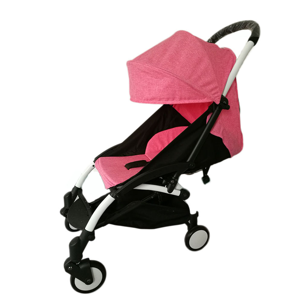 2.Item color displayed in photos may be showing slightly different on your computer monitor since monitors.Thank for your understanding.  sc 1 st  eBay & Textile for Baby Stroller Sun Shade Cover Baby Throne Pram Cushion ...