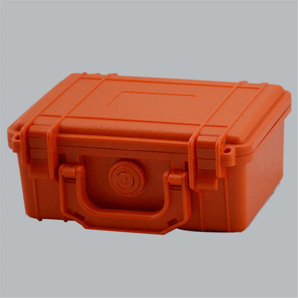 Qii lu Waterproof Storage Case Waterproof Container Storage Box Shockproof Anti-Pressure Airtight Survival Case Sealed Case Outdoor Fishing Carry Box