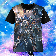 Anime Re:Zero Rem T-shirt Short Sleeve Unisex TEE Cosplay Otaku S-3XL#3-921