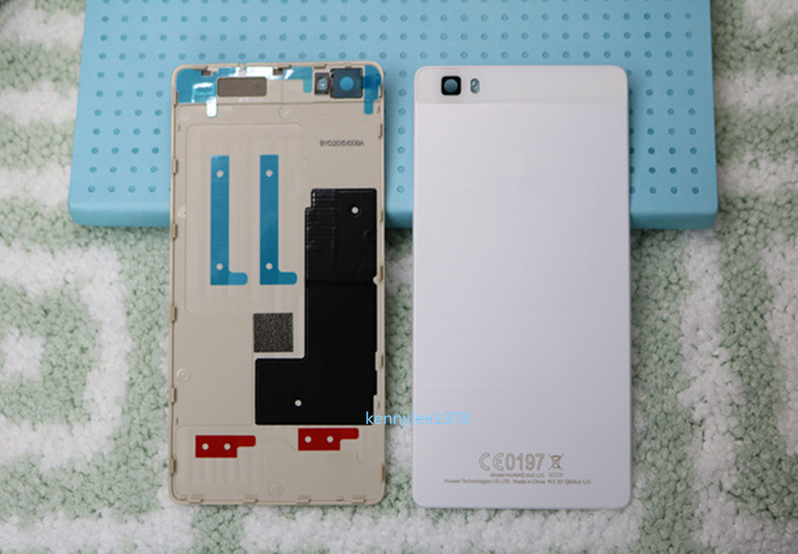 For Huawei P8 Lite Battery Back Cover Rear Door Housing Case ...