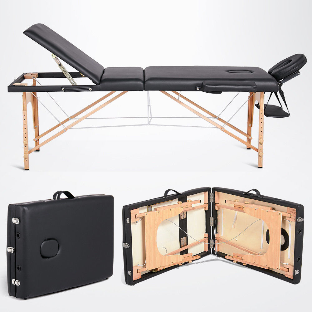 Lightweight Folding Massage Table Portable Couch Bed ...