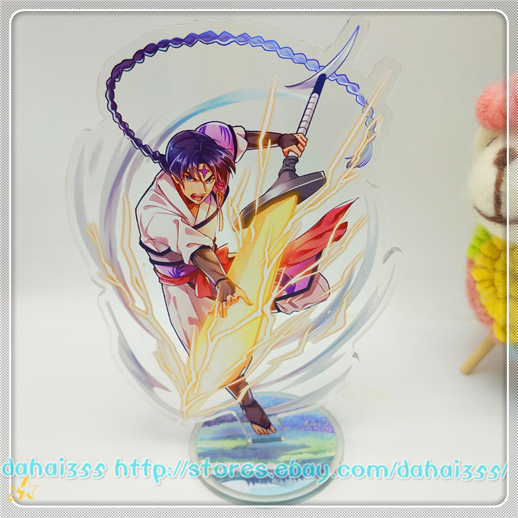 Anime Inuyasha Desk Decorate Two-Sided Acrylic Stereo Sign Stand Figure Gift #X6