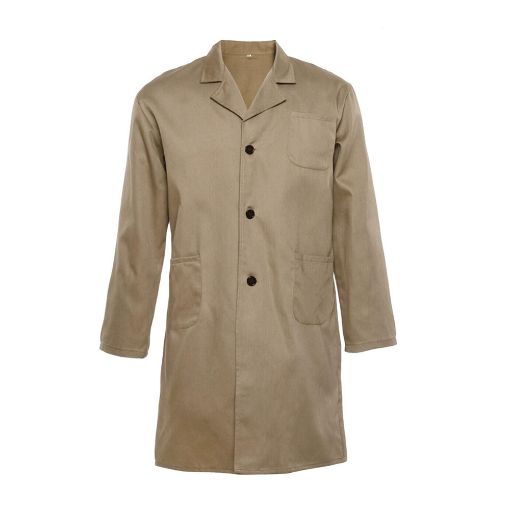 New Brown Lab Coat Laboratory Coat Warehouse Coat Doctor's Coat ...