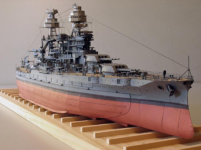 Details about Scale 1:250 USS Arizona BB-39 Battleship DIY 75cm=30