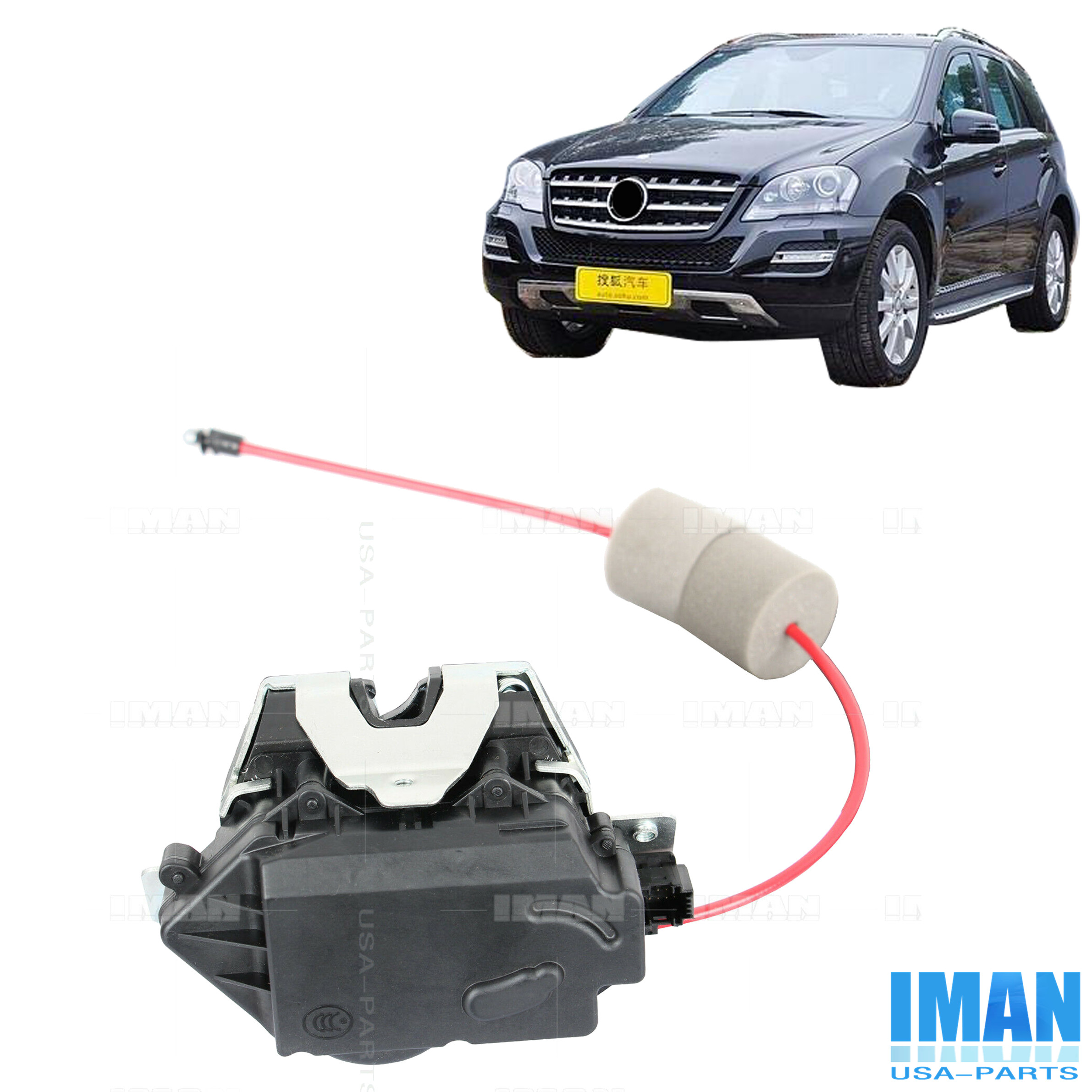 Details about Trunk Lift Latch Tailgate Lock Actuator For Mercedes W164  S211 ML & E 1647400635